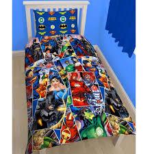 dc comics batman superman duvet cover and pillowcase