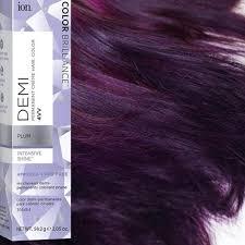 Ion Permanent Hair Color Chart Intense Violet Ion Color Brilliance Brights Semi Permanent Hair Color