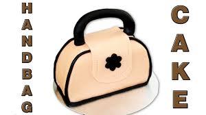 how to make a handbag cake really easy tutorial video happyfoods you
