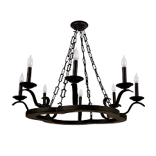 park harbor phhl6108orb oil rubbed bronze birkdale 32 wide 8 light single tier empire style chandelier with candle style arms lightingdirect com