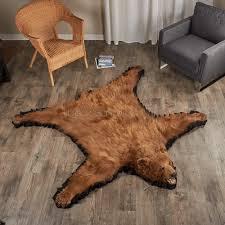 bearskin rugs com
