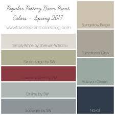 most popular neutral paint colorsInterior Sherman Williams Colors  Pottery Barn Paint Colors
