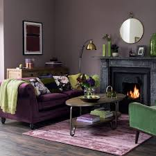 traditional living room designs. Modern Bohemian Living Room In Dusky Purple And Olive Green Traditional Designs