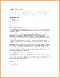 5 Job Cover Letter Sample Pdf Science Resume Formal Buisness Letter