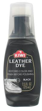 kiwi 11806 2 5 oz black leather dye
