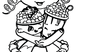 Shopkins Coloring Pages Ice Cream Coloring Pages For Girls Printable