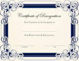 Editable Certificate Templates Picture Certificates
