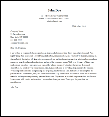 Example Of Professional Cover Letters Sample Of Professional Resume And Cover Letter Professional Direct
