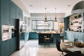 Teal Kitchen Cabinets Are Suddenly Everywhere Apartment Therapy
