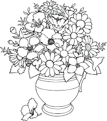 Flowers Coloring Pages Telematik Institutorg