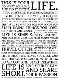 This Is Your Life Quote New Inspiring Quotes Thoughts In Visual Form Nonsense Society