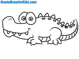crocodile drawing for kids. Fine Crocodile Crocodile Drawing On Crocodile Drawing For Kids O