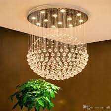 modern k9 crystal chandelier square shaped crystal chandelier led lighting luxury villa duplex stairs light pineapple chandelier wall chandelier