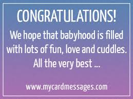 Baby Congrats Note Congratulations Quotes For New Baby Boy Hashtag Bg