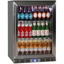 rhino 1 door alfresco outdoor bar fridge model gsp1h ss
