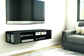tv wall mount with shelf for cable box furniture cabinet under wall mounted units and the