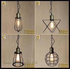 metal pendant lamp shades ac100 240v modern mesh shade lights vintage 11