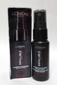loreal pro setting spray infallible makeup extender 1 oz trial size exp 08 19 71249309605 ebay