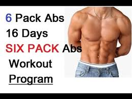 Diet Chart For Abs Workout 6 Pack Abs 16 Days Six Pack Abs Workout Program Diet Plan