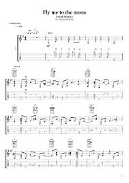 Print and download fly me to the moon sheet music by diana krall. Kenneth Acoustic Frank Sinatra Fly Me To The Moon Fingerstyle Guitar