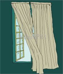 open window with curtains. Fine Curtains Curtains Blowing Near Open Window On With I