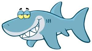 shark clipart.  Clipart Happy Shark Cartoon Character Inside Clipart