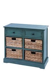 Wicker Basket Cabinet Uma Wood 4 Wicker Basket Cabinet Nordstrom Rack
