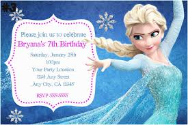 make your own frozen invitations frozen birthday invitation 81 birthday invitations nailartssravi