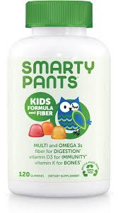 SmartyPants | <b>Kids Formula and Fiber</b> | FREE 1-3 Day Delivery