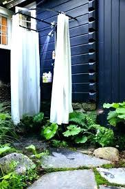 portable outdoor shower enclosure inspirational exteriors excellent design ideas 4