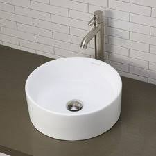 ceramic pedestal combo bathroom sink single