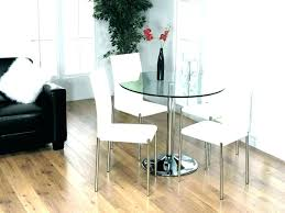 glass table and 4 chairs white glass dining table set round kitchen table sets small