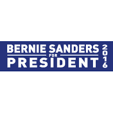 bernie sanders for president. bernie sanders for president bumper sticker