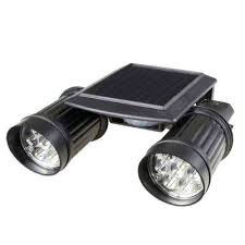 black motion activated outdoor integrated led spot light home depot security lights n