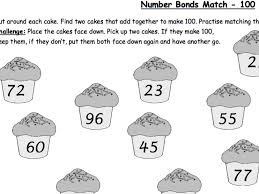 Number Bonds to 100 - Number Facts Quick Recall Activity by ...