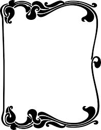 a7d881b20bcaa61244d2b0bafa5bf7bf art nouveau border clipart art nouveau art deco pinterest on frame outline template