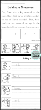 Cut and Paste Sequencing Worksheets for First Grade   Homeshealth.info