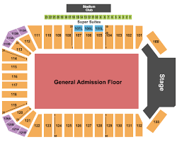 Toyota Stadium Frisco Seating Charts For All 2019 Events