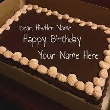 Birthday Cake With Name Editor Online Free Freshbirthdaycakescf