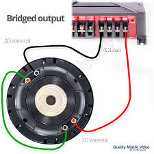 dual voice coil wiring diagram wirdig series configuration means that the sub woofers are wire one after the