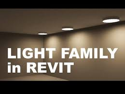 functioning light family in revit you