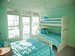 mint green paint color interior bedroom for kids