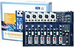 +complete music production package+advanced mixing and mastering tools+unlimited audio and midi. Amazon Com 7 Channel Mixer Console 48v Phantom Power Mixing Board With Usb Disk Input Podcast Audio Mixer For Live Streaming Recording Dj Stage Karaoke Music Production Equipment Musical Instruments