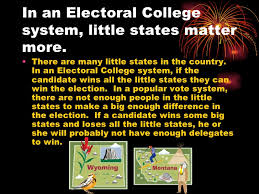 should the electoral college be abolished 7 in an electoral college