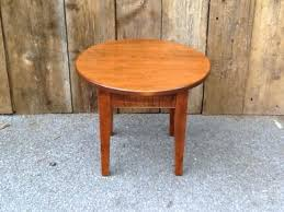 small round wood coffee table occasional tables maple small round shaker coffee table small round coffee
