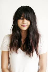Best 25 Grown Out Bangs Ideas On Pinterest Middle Parting
