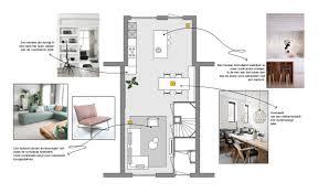 Kamerontwerp Ontwerp Van Vierkante Woonkamer Interieur En Indeling