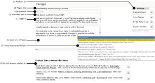 Citesight Supporting Contextual Citation Recommendation Using