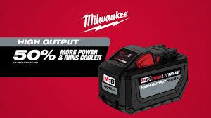 Milwaukee M18 Redlithium High Output Hd 12 0 Battery
