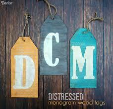 diy tutorial antiquing wood. Monogram DIY Distressed Wood Tag Supplies: Diy Tutorial Antiquing P